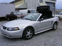 2003 Ford Mustang Convertible, Accident Free, Rust Free. Hamilton Ontario Preview