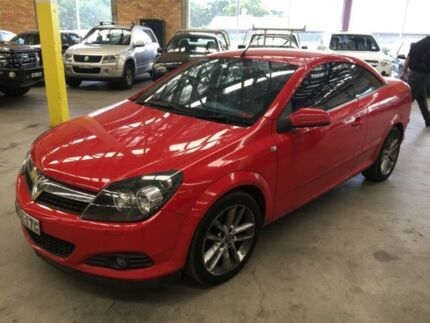 2006 Holden Astra AH MY07 Twin TOP Red 4 Speed Automatic Convertible