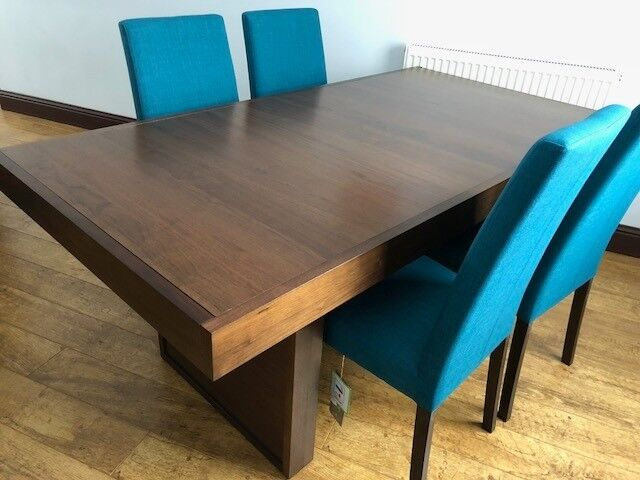 Phoenix Dining Table 4 Chairs Ex