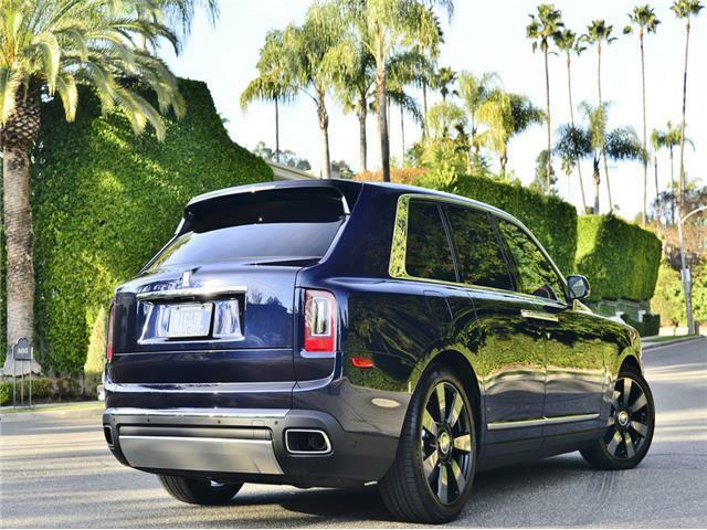 Image 9 Coche Americano usado Rolls-Royce Cullinan 2020