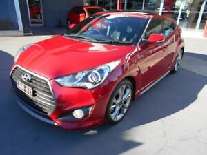 2015 Hyundai Veloster FS4 Series II SR Coupe Turbo Red 6 Speed Manual Hatchback Bentleigh East Glen Eira Area Preview