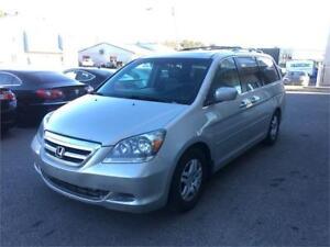 2007 Honda Odyssey EX-L, Cuir, Toit, Bancs, Pneus Hiver, Cruise