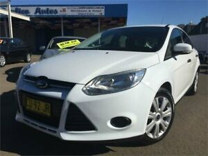 2012 Ford Focus LW Ambiente White 6 Speed Automatic Hatchback Blacktown Blacktown Area Preview