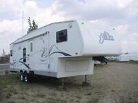 **JUST $198/mo (oac)** JAZZ 5th WHEEL SLEEPS 6, SUPER SLIDE!