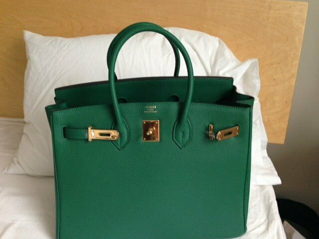 4aea7bc63ce2d5 Hermes Birkin Green 35 comes with dust bag box | in Westminster ...