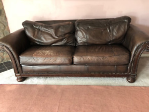 Leather couch - Bernhardt