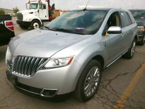 "2013 Lincoln MKX AWD 20""chrome wheels, sunroof"