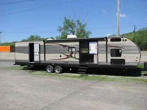 WOW!!! Cherokee 36P Park Model with Bunk Room, 2 Slides!!!