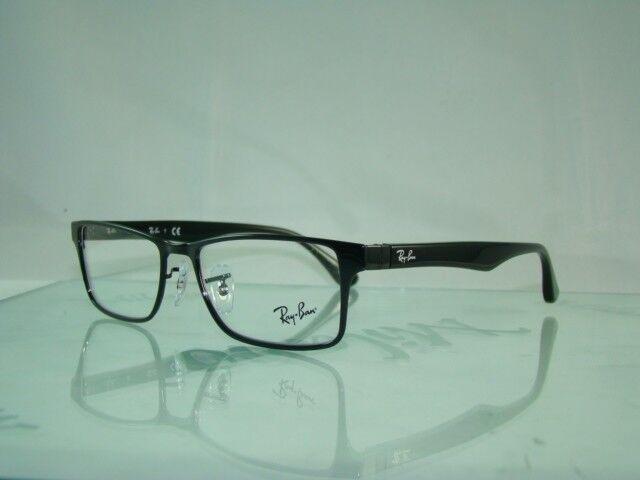 2d56b25c53154 UPC 713132447499 - Ray-Ban Glasses 6238 2509 Black 6238 Rectangle ...