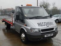 VEHICLE RECOVERY...CAR TRANSPORTATION SERVICES TO & FROM ESSEX AREAS.