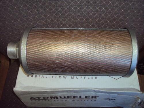"ALWITCO M15 SPECIAL EXHAUST MUFFLER 1-1/2"" MALE NPT TYPE E14 , ITEM # 0393015"