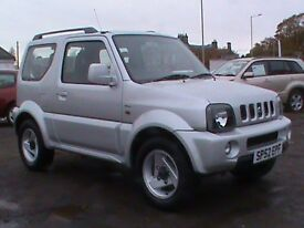 SUZUKI JIMNY 1.3 SPECIAL SILVER 55499 MILES MOT CLICK ONTO VIDEO LINK TO SEE MORE DETAILS