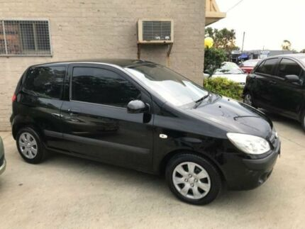 2010 Hyundai Getz TB MY09 S Black 5 Speed Manual Hatchback Wauchope Port Macquarie City Preview