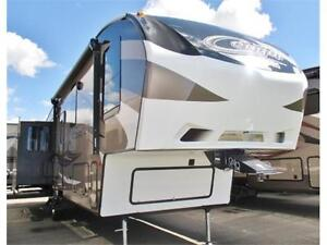 TRAVEL IN COMFORT-327RES COUGAR FIFTH WHEEL- PERFECT FOR COUPLE