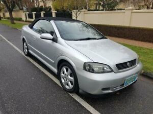 2002 Holden Astra TS Convertible Silver 4 Speed Automatic Convertible Prospect Prospect Area Preview