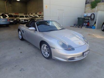 2004 Porsche Boxster 986 MY04 Silver Metallic 5 Speed Sports Automatic Convertible