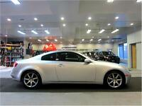2005 Infiniti G35 Coupe Automatic Sport wheels