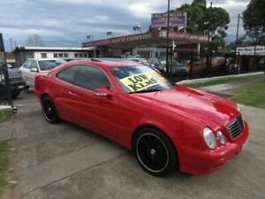 1999 Mercedes-Benz CLK320 Elegance Red 5 Speed Automatic Coupe New Lambton Newcastle Area Preview