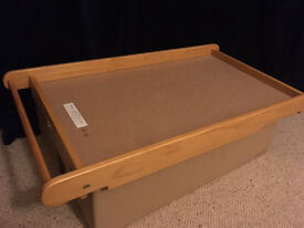 Baby top cot changer by East Coast