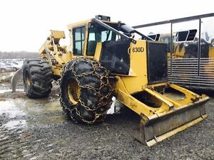2011 Tigercat 630 D Grapple Skidder
