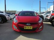 2013 Hyundai i30 GD2 Active Red Sports Automatic Hatchback Granville Parramatta Area Preview