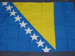 NEW 3X5 BOSNIA HERZEGOVINA FLAG BOSNIAN 3'X5' SIGN F594