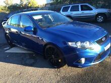 2009 Ford Falcon FG XR6 Blue 5 Speed Auto Seq Sportshift Sedan Campbelltown Campbelltown Area Preview