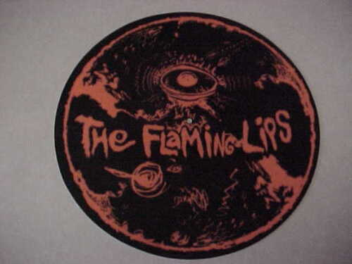Flaming Lips - VERY COOL promo ONLY Turntable slipmat - never used