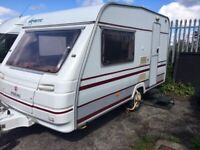 1998 SWIFT EXCEL 390/2 2-BERTH CARAVAN