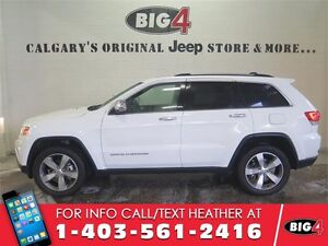 2016 Jeep Grand Cherokee Limited | Sunroof | V6 | Leather