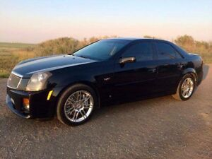 2007 Cadillac CTS Black Coupe (2 door)