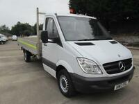 Mercedes-Benz Sprinter 313 3.5T LWB S/Cab Dropside DIESEL MANUAL WHITE (2013)