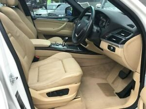 2008 BMW X5 E70 MY09 xDrive30d Steptronic White Semi Auto Wagon Southport Gold Coast City Preview