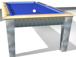 Custom Built Pool Table1 Prototype only Available at this price