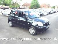 2005 (05 Reg) Kia Picanto 1.1 LX AUTOMATIC 5DR Hatchback BLACK + LOW MILES