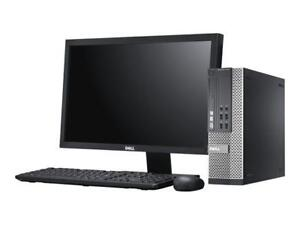 Dell OptiPlex 7010 Core i5-3550 Quad-Core 3.3 GHz  Monitor