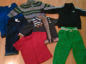 Boys Size 2,3,4 Jordans, Adidas, Childrens Place Geox Shoes London Ontario image 2