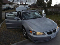 Parts Car -1998 Pontiac Grand Prix Sedan