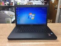 Compaq CQ57 AMD 1.30GHz 4GB Ram 250GB HDD Webcam Win 7 Laptop