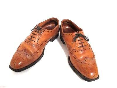 Auth Crockett&Jones Brown Leather Shoes Men
