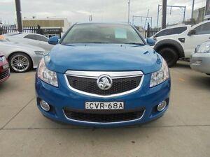 2012 Holden Cruze JH Series II MY13 CDX Blue Auto Sports Mode Sedan Holroyd Parramatta Area Preview