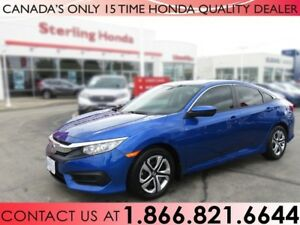 2018 Honda Civic Sedan LX | TINT | PROTECTION PKG. | CLEARSHIELD