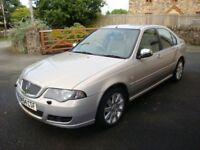 2005 MODEL ROVER 45 SALOON CONNOISSEUR AUTO.