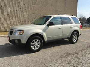 2008 Mazda Tribute Clean Carproof/Good KM/Certified and E-Tested