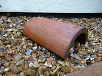 Reclaimed Red Clay Ridge Tiles