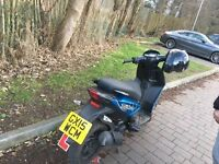 50cc piaggio typhoon great bike very reliable great condition