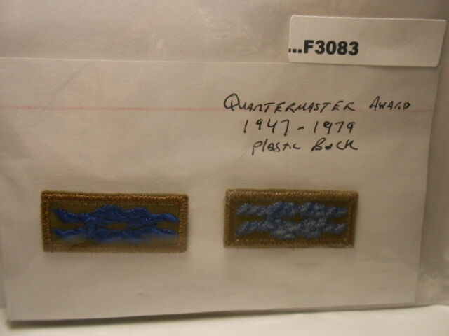 QUARTERMASTER AWARD PLASTIC BACK KNOT F3083