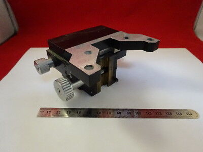 Vickers England Photoplan Stage Table Holder Microscope Part As Is 90-b-54