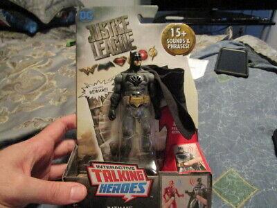 Mattel - DC Justice League Interactive Talking Heroes - Batman