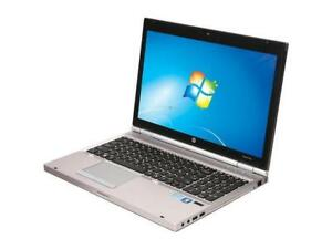 "15.6"" HP Elitebook 8570 Core i7-3520m 8.0RAM/500HD Laptop"